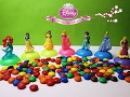 Принцессы Дисней M M's Princess Cinderella, Belle, Rapunzel, Snow White, Ariel, Aurora, Jasmine.