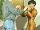 Christa Bauch vs Mike - Test of Strength, Mercy Wrestling, Hot Female Muscles