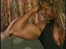 Super Strong Muscle Girl Worship
