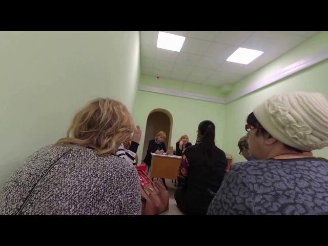 встреча главного врача ГБУЗ «ДГП №143 ДЗМ» с населением