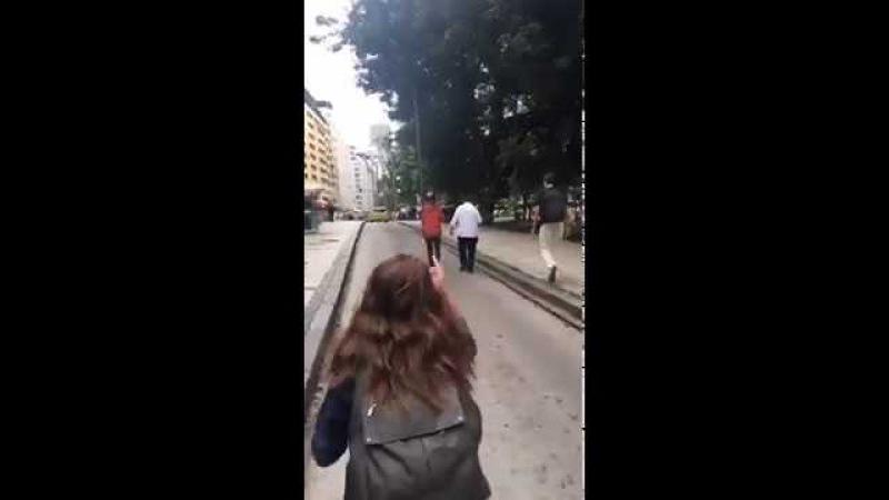 Casseta Marcelo madureira é Agredido na alerj pela CUT Golpista Covarde