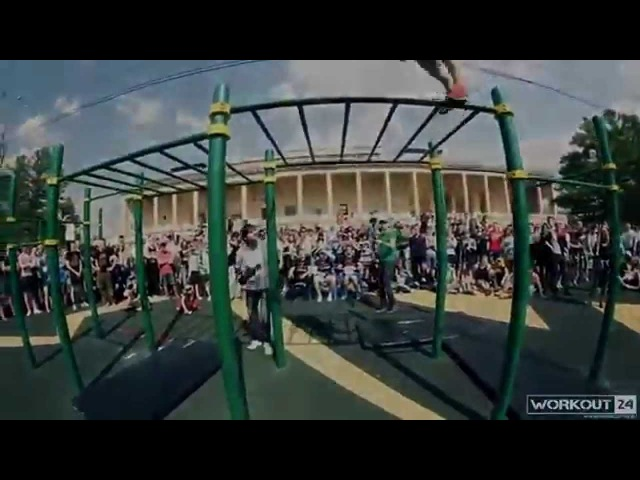 Dima Kuzmin street workout and calisthenics 2014