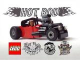Как построить Хотрод из ЛЕГО видеоинструкция / how to build a hot rod  LEGO