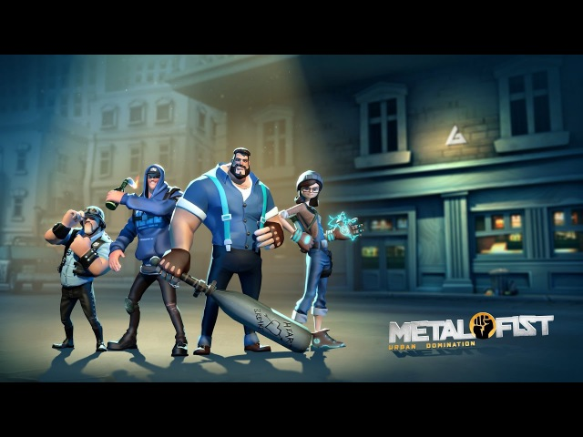 Metal Fist: Urban Domination - Reveal Trailer   by Vivid Games