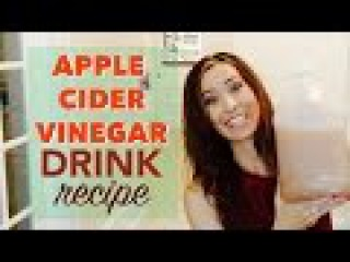How to Make an Apple Cider Vinegar Drink Recipe | Helps Detox, Weight, Energy