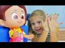 Видео для девочек. Игра с куклой и Пластилином Плей До! Делаем модный маникюр!