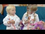 Играем в доктора с игрушками Май литл пони на русском языке Видео для девчонок Мультики про уколы