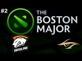 EPIC Virtus.Pro vs Secret #2 (bo3) | The Boston Major 2016 Dota 2