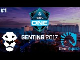 AD Finem vs Team Liquid #1 (bo3) | ESL One Genting 2017 Dota 2