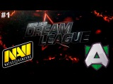 NaVi vs Alliance #1 (bo2) | DreamLeague S6 Dota 2