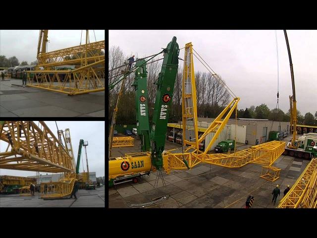 400 tons Liebherr kraan van Koninklijke Saan