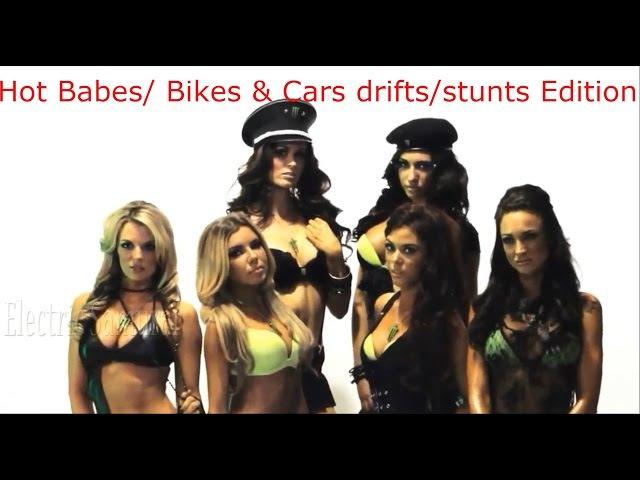 Progressive Psytrance February 2017 mix [Hot babes/Bikes Cars drifts/stunts]
