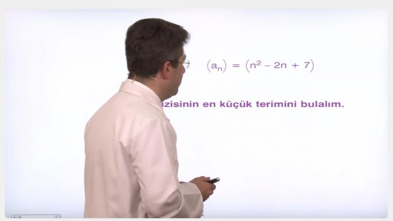YGS-LYS MATEMATİK - Diziler - Seriler 1