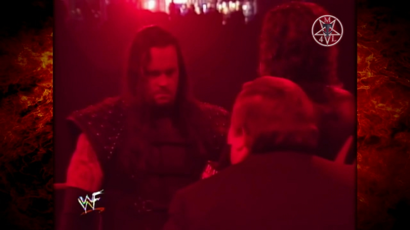 Kane Paul Bearer - The Undertaker In Ring Segment 12.15.1997