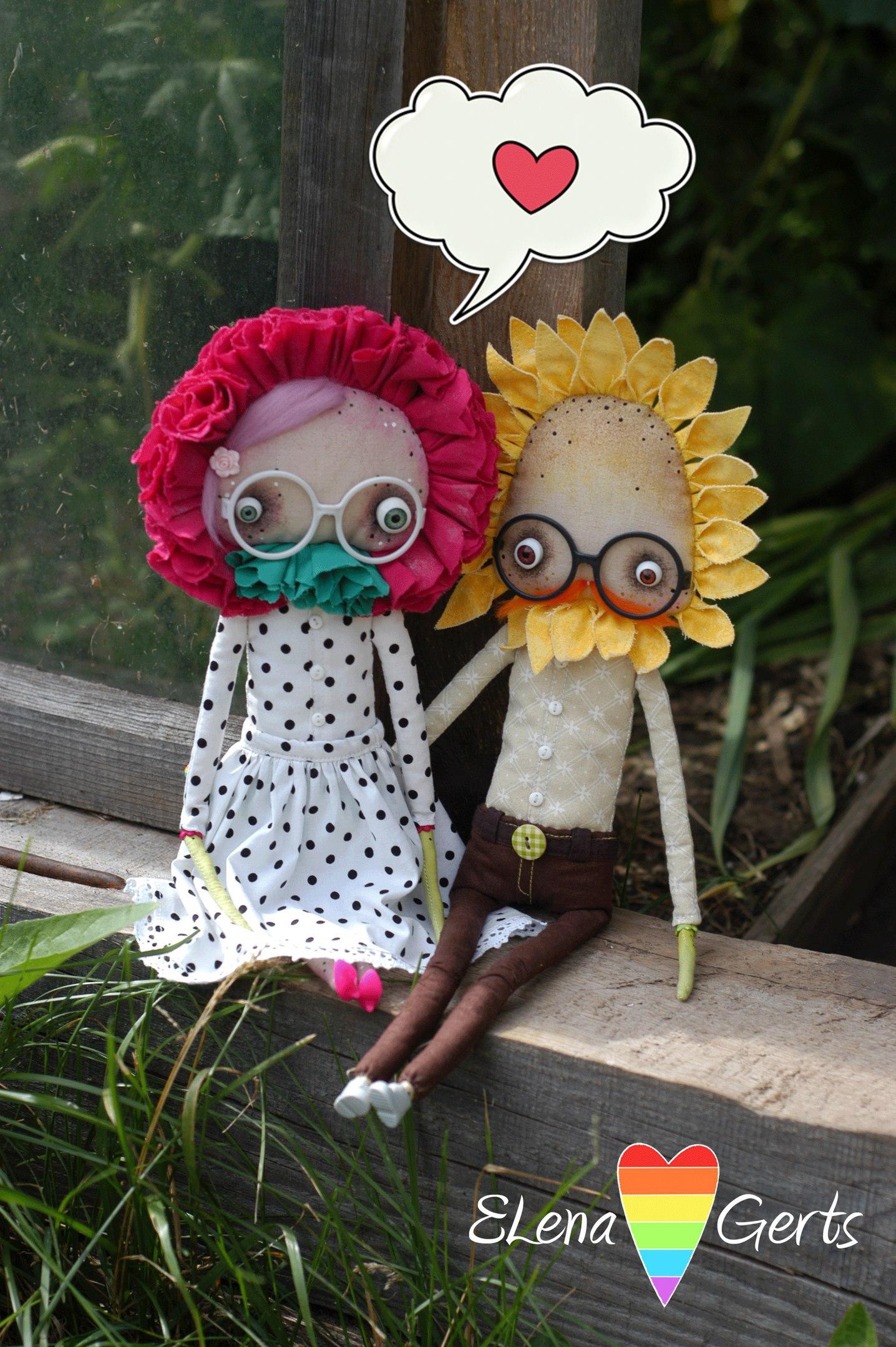 куклы пара