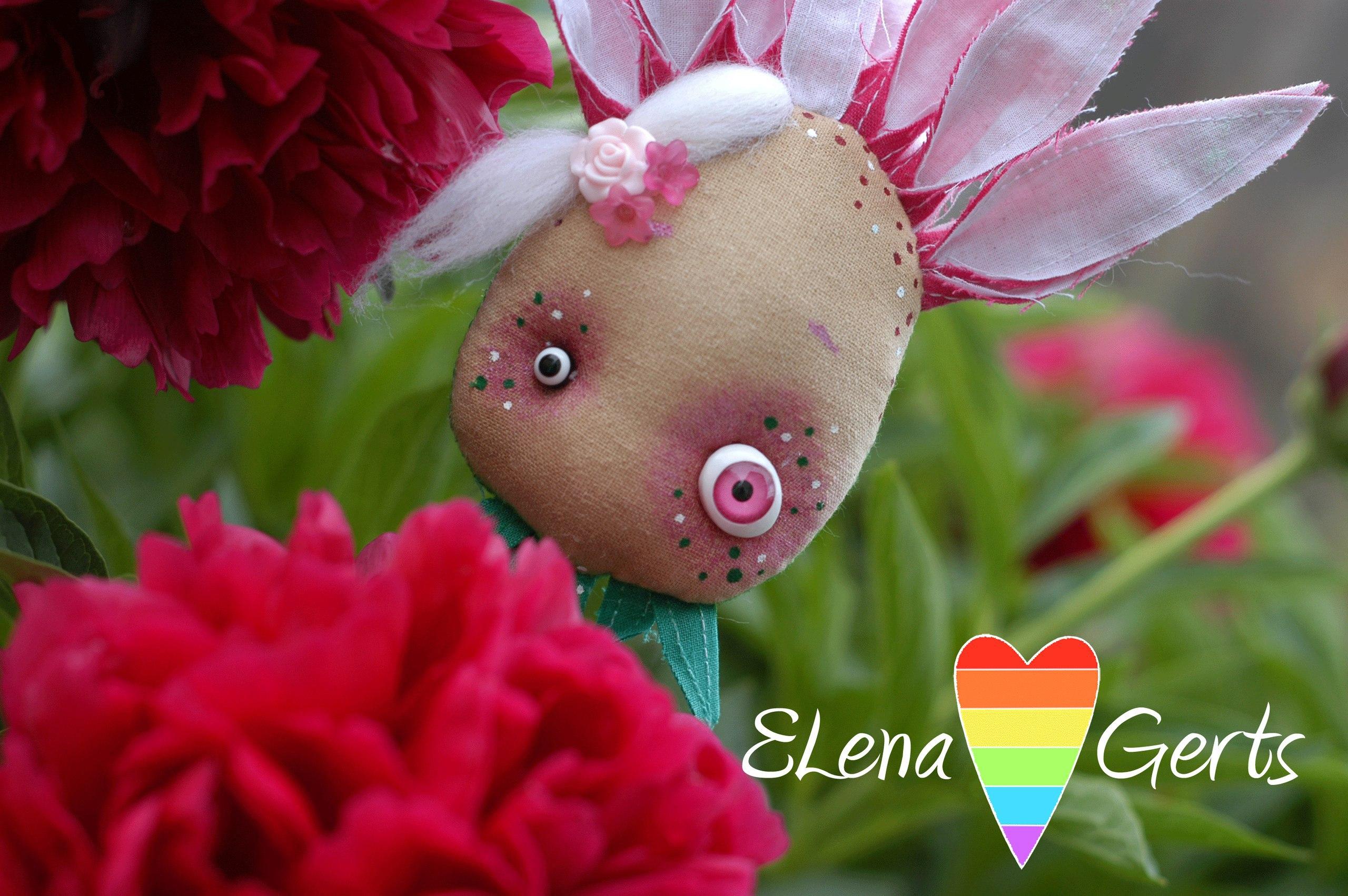 цветочные куклы