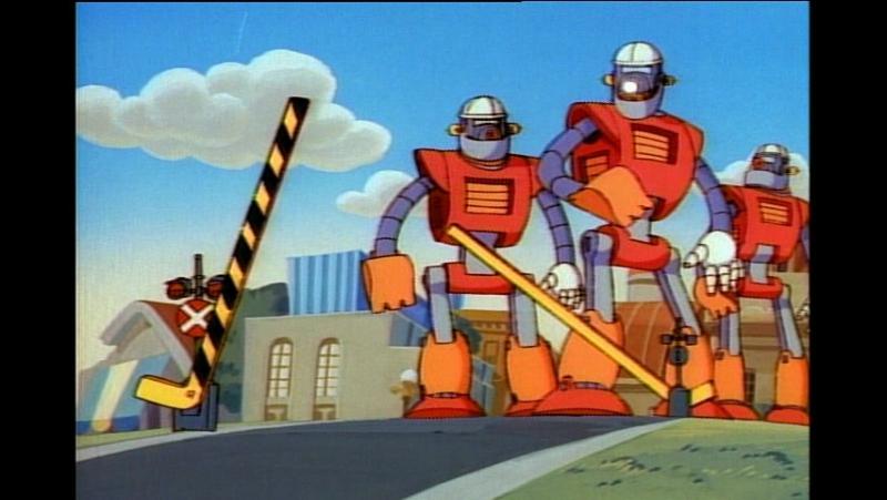 Утиные истории серия 10 Похитители Роботов