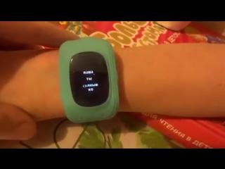 Как принимать звонки и отправлять голосовые и текстовые сообщения на Smart baby watch Q50 и другие интересные функции часов (877