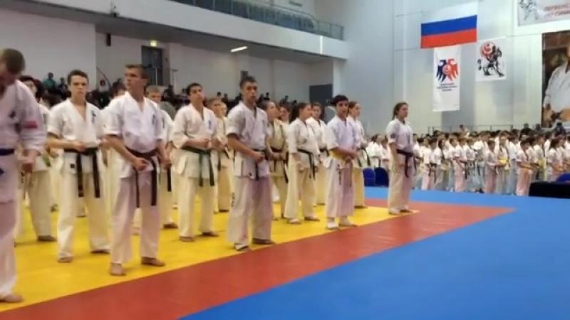 Первенство России по Синкекусинкай kyokushinkai superkarate синкекусинкай шинкиокушинкай