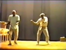 Frankie Manning, Chazz Young perform the Shim Sham