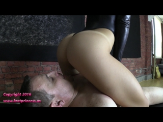 Alexa rydell - full weight smother in bondage chair