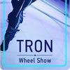Tron wheel show. Шоу на праздники (Минск)