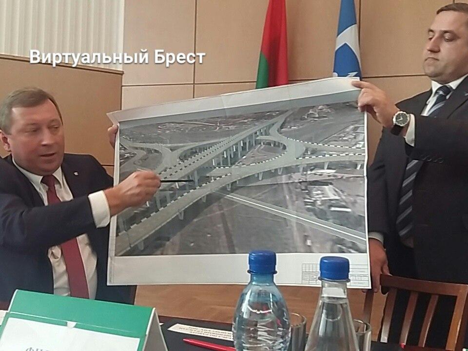 "Представлен проект путепровода над ""речицкими"" переездами"
