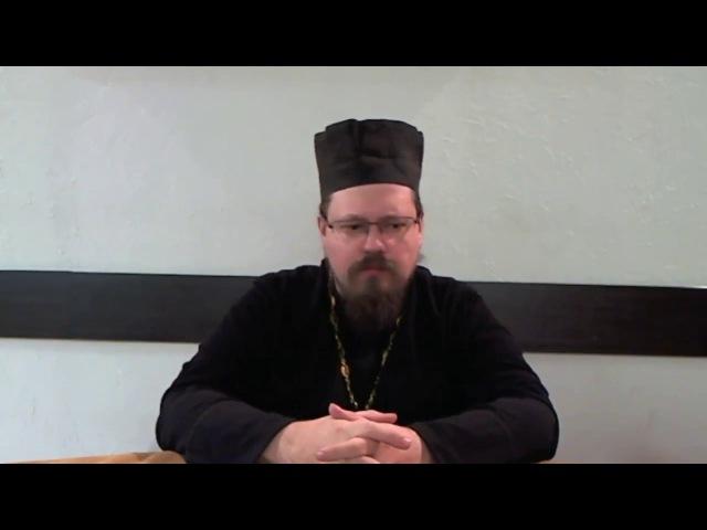 Комментарий на слова прот.А.Ткачева о спасении. свящ. Георгий Максимов