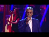 Janette &amp Aljaz dance to Bocelli's