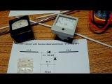 Простейший самодельный детектор ЭМ поля. Simplest EMF detector DIY