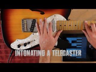 Guitar Intonation Hack- Fender Telecaster
