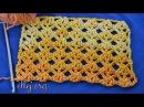 Видеоурок ажурный узор крючком Фишки Мастер класс по вязанию крючком от Елены