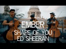 Ember Trio - Shape of You Ed Sheeran Violin and Cello Cover