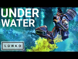 StarCraft 2 Cast: UNDER WATER Zerg vs Terran!