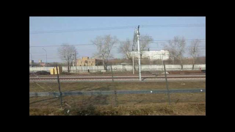 От Шоссе Энтузиастов до Нижегородской через Андроновку. МЦК. Москва. 06.04.2017