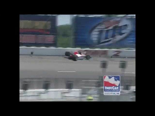 Top 10 Milka Duno IndyCar Crashes
