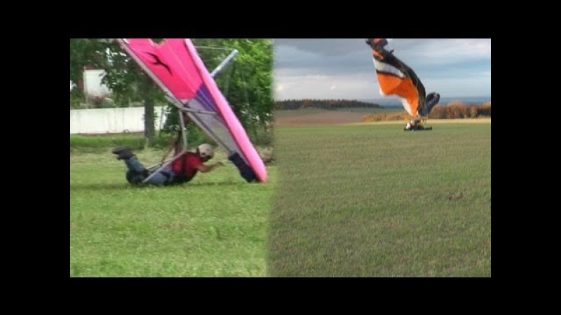 Analyzing Crashes Paragliding Paramotor and Hanggliding