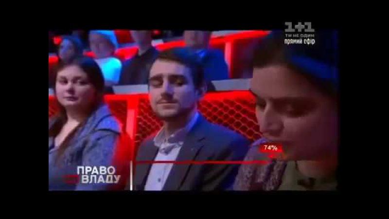 Волонтер АТО Марія Берлінська підірвала ефір розгромною промовою про владу в країні 24 11 16