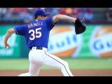 Cole Hamels  Texas Rangers  Mid-Season Highlights