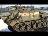 Weathering Russian armor on a Tamiya  JSU 152 using Ammo by Mig and Vallejo products.