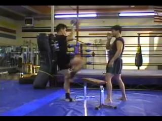 Удары ногами в тайском боксе. Муай тай кики.