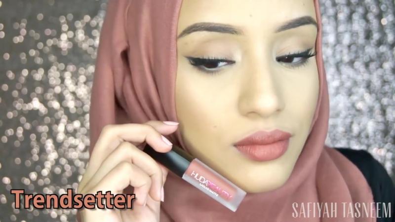 Обзор №4 Матовых Помад от Huda Beauty _ HUDA BEAUTY Liquid Lipstick Minis menow.dp.ua