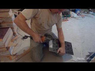 Ремонт квартиры своими руками: Укладка плитки на стену