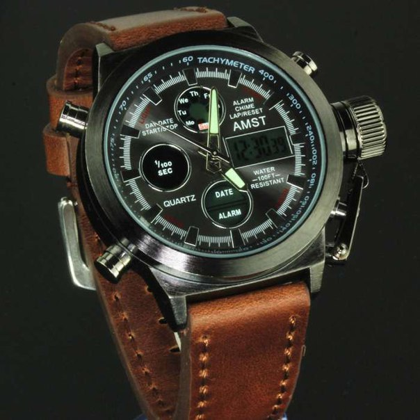 ? Настоящие армейские часы из стали!! ?