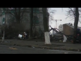 СТРЕЛКИ!!! Рабочие материалы съемки расстрела на Институтской Майдан, 20 02 2013[1]