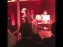 EllenDegeneres spent Valentine's Day yesterday with snoopdogg , rkelly , qtip and many other celebrities on private party a