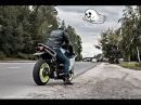 Night riding on motorcycles Ночной прохват на мотоциклах по Москве