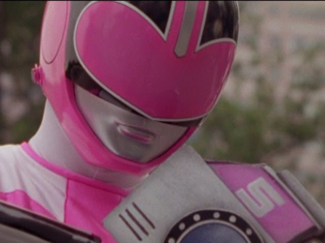 Power Rangers Time Force - Pink Ranger vs Fatcatfish (Jen's Revenge Episode).