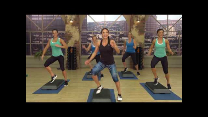 Cathe Friedrich's Strong and Sweaty Cardio Slam Workout