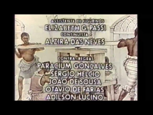 À Sombra dos Laranjais - A Seguir Cenas da Prox. Novela Enc. Iscrava Isaura (TV Globo, 1977)